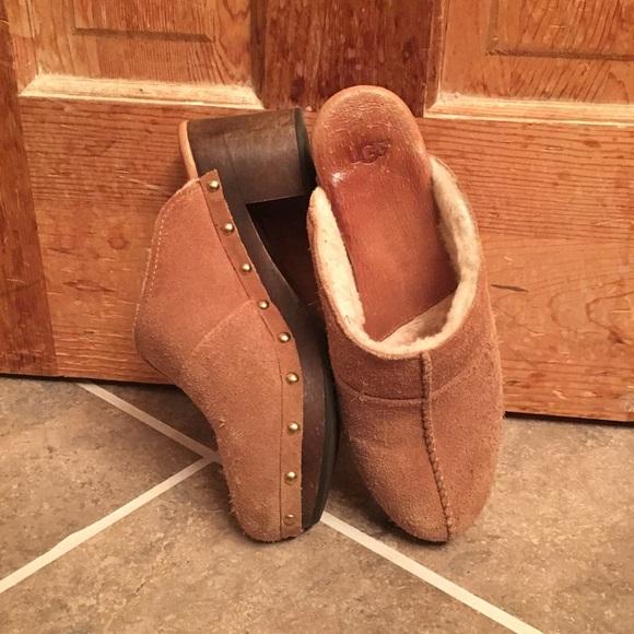 UGG Shoes - UGG Suede Kassi Clogs